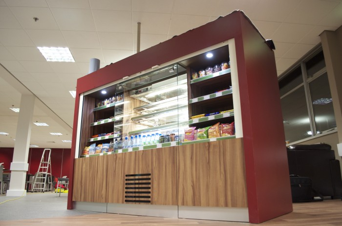 Cameron, Restaurant - Bespoke Retail Display Area