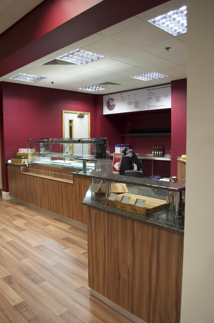 Cameron, Restaurant - Bespoke Counters, Flooring and Ceilings