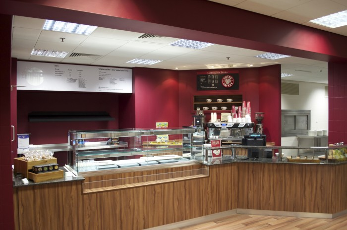 Cameron, Restaurant - Bespoke Counter and Bulkhead