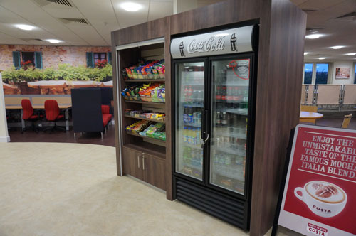 NFU Mutual, Restaurant - Bespoke Retail Section