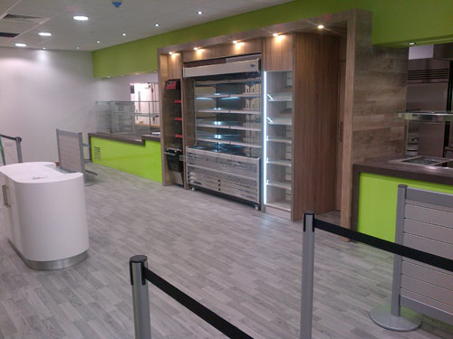 BAE, Restaurant - Bespoke Counters and Flooring