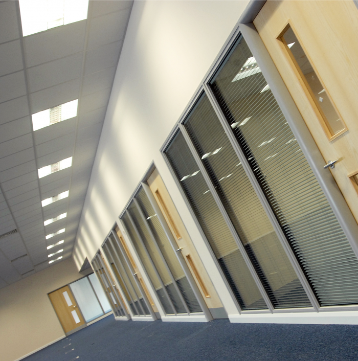 Sodexo Office - Glass Partitions, Flooring and Ceiling