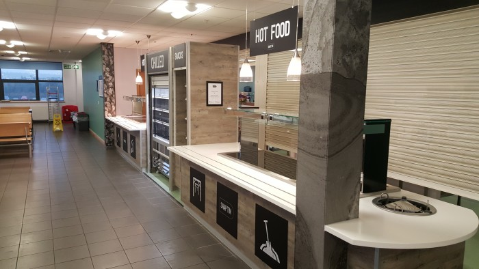 ASOS, Restaurant - Bespoke Counters, Graphics and Retail Section