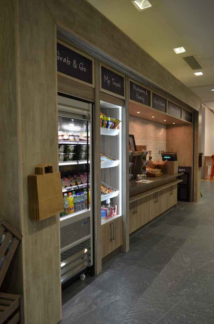 AstraZeneca, Restaurant - Retail Housing