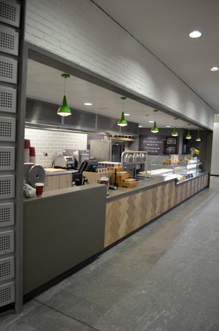 AstraZeneca, Restaurant - Bespoke Main Counter