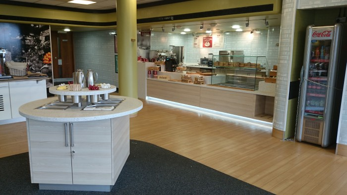 Patheon UK, Restaurant - Bespoke Servery and Condiment Unit