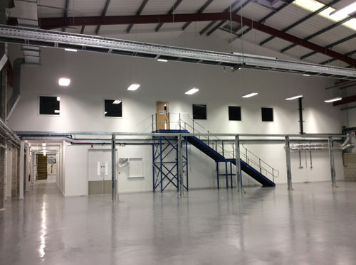 Bifold, Warehouse - Construction of Offices and Mezzanine