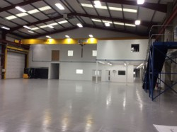mezzanine, stairs, warehouse, fitout