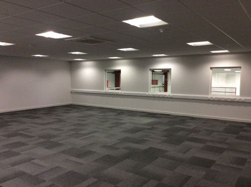 Bifold, Offices - Double Glazed Windows, Ceilings and Flooring