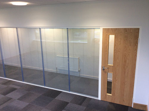 Bifold, Offices - Glass Partitioning, Ceilings and Flooring