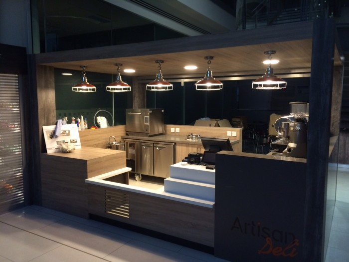Thales, Restaurant - Bespoke Stand-alone Servery and Surround