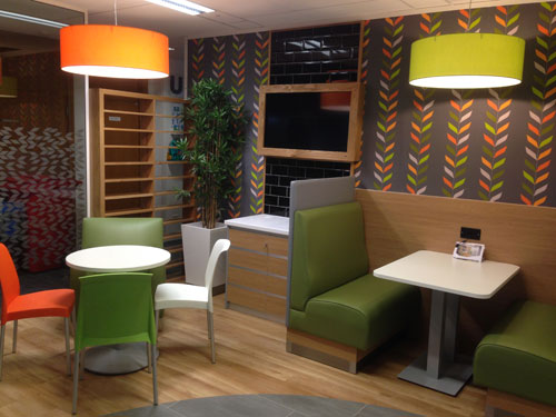 Tesco, Restaurant - Bespoke Shopfit and Flooring