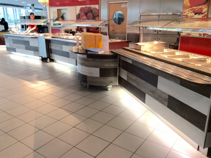 M&S Restaurant - Bespoke Counters