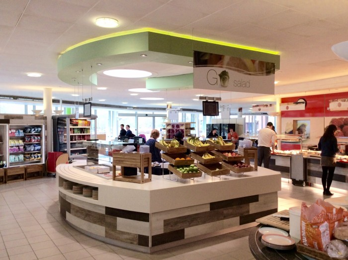 M&S Restaurant - Bespoke Servery and Bulkhead