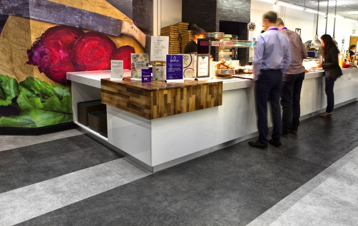 Royal London, Restaurant - Bespoke Counters, Flooring and Wall Graphics