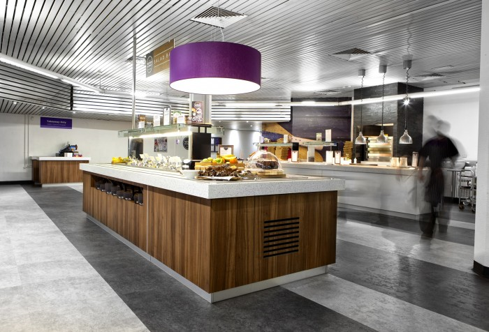 Royal London, Restaurant - Bespoke Counters and Flooring