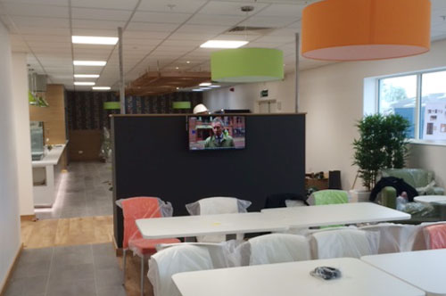Tesco, Restaurant - Bespoke Dividing Wall