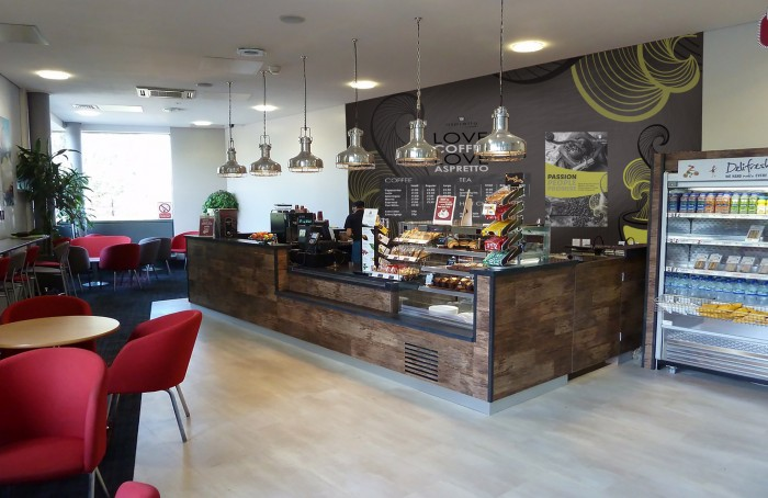 York University, Restaurant - Bespoke Servery