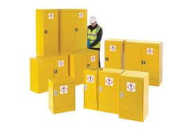 COSHH cabinet safety equipment