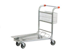 Retail material and handling trolley