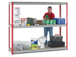 heavy duty shelving, racking, storage unit