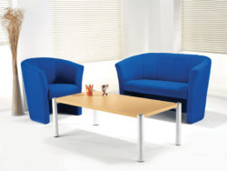 Sofa and coffee table office furniture