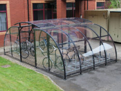 Cycle shelter - Premises Equipment